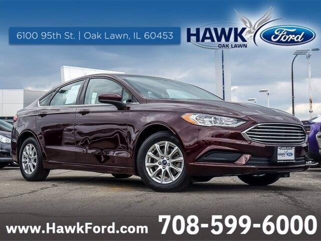 used 2017 Ford Fusion car, priced at $16,998