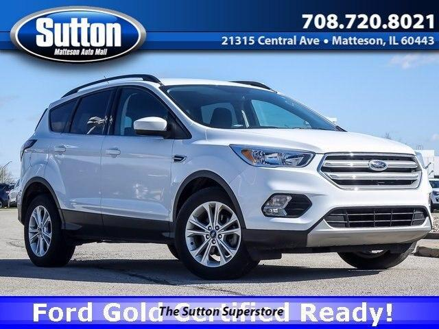 used 2018 Ford Escape car, priced at $18,900