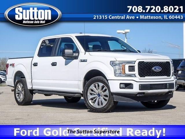 used 2018 Ford F-150 car, priced at $38,000