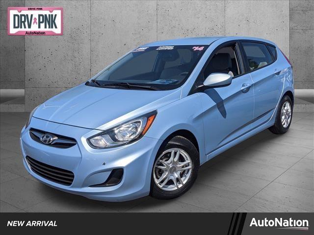 used 2014 Hyundai Accent car, priced at $10,995