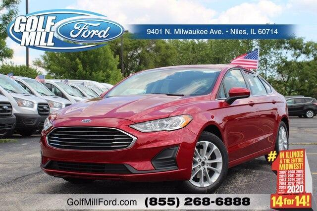 new 2020 Ford Fusion car, priced at $19,766