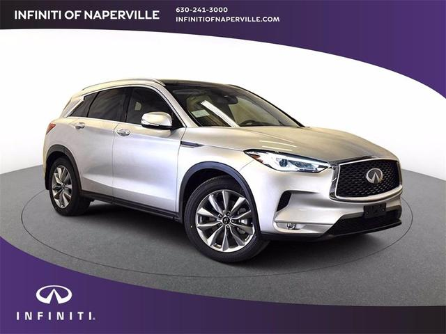 new 2021 INFINITI QX50 car, priced at $43,353