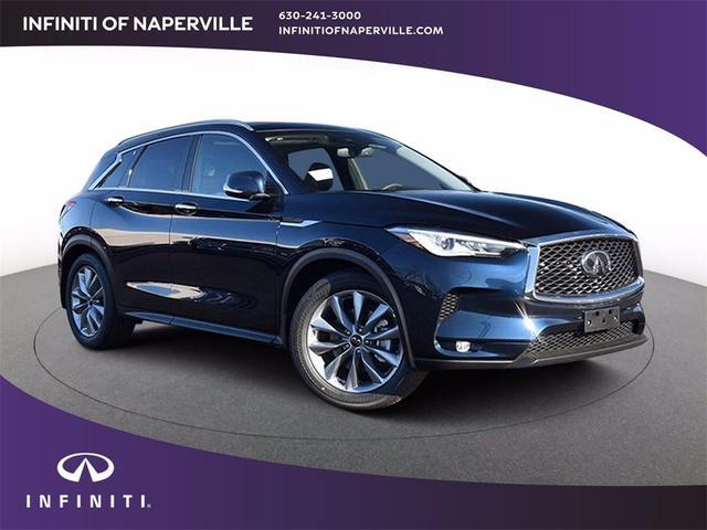 new 2021 INFINITI QX50 car, priced at $44,216
