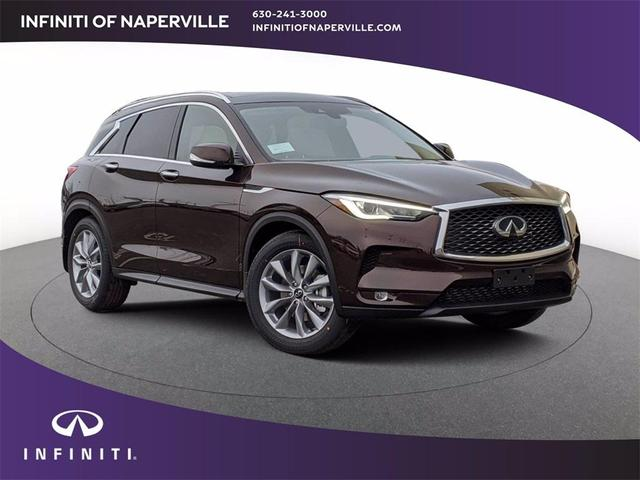 new 2021 INFINITI QX50 car, priced at $44,472