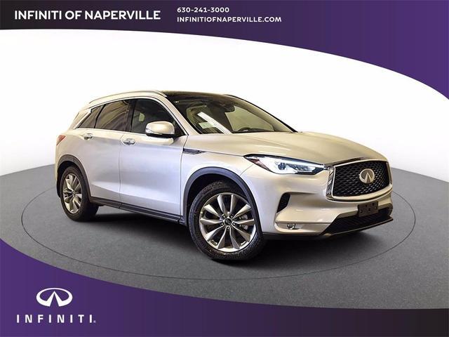 new 2021 INFINITI QX50 car, priced at $43,992