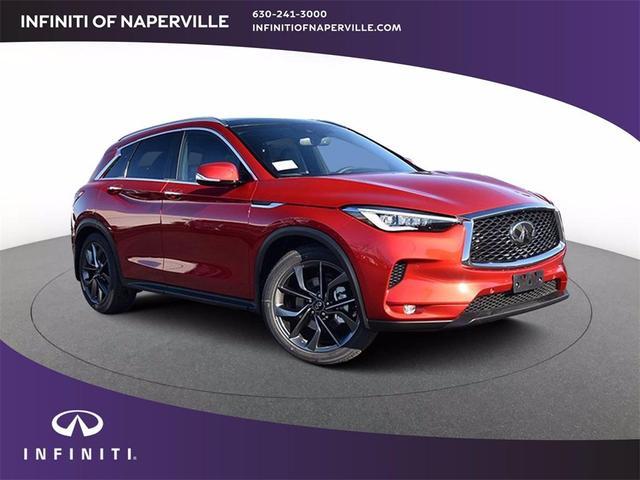new 2021 INFINITI QX50 car, priced at $58,142