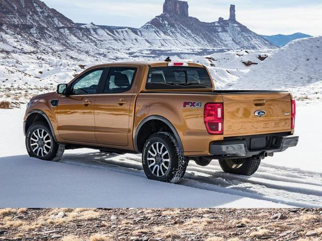 new 2021 Ford Ranger car, priced at $44,745