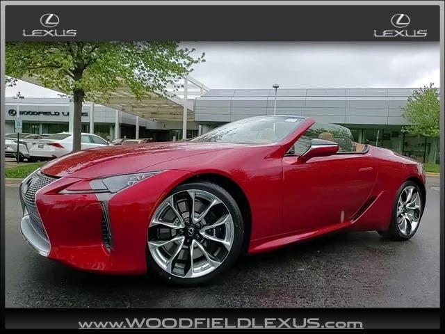 new 2021 Lexus LC 500 car, priced at $115,065