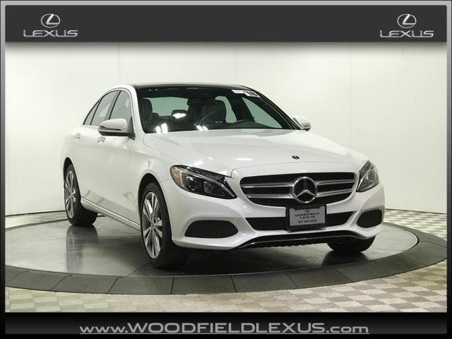 used 2018 Mercedes-Benz C-Class car, priced at $32,777