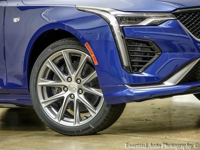 new 2020 Cadillac CT4 car, priced at $47,895