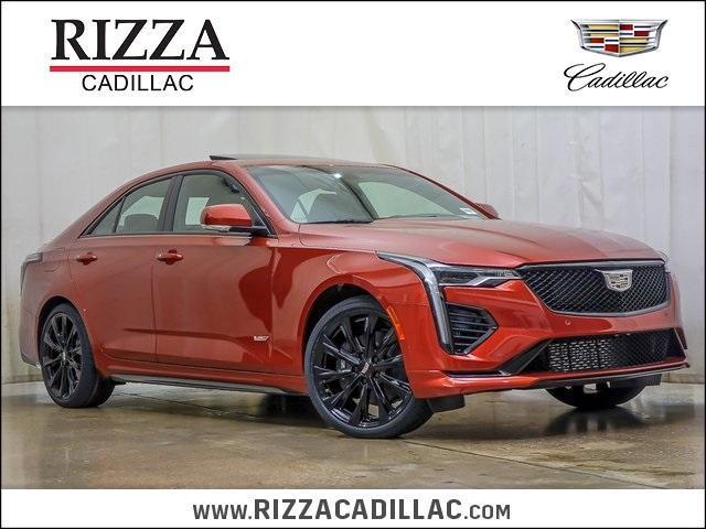 new 2020 Cadillac CT4 car, priced at $56,720