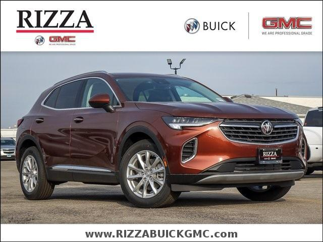 new 2021 Buick Envision car, priced at $33,490