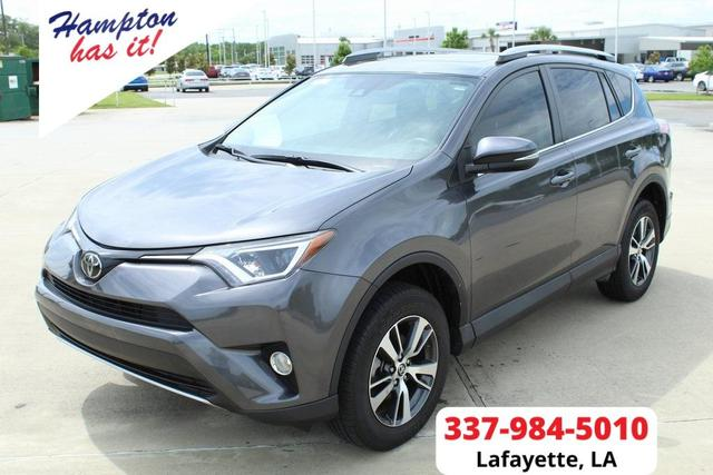 used 2018 Toyota RAV4 car, priced at $25,799