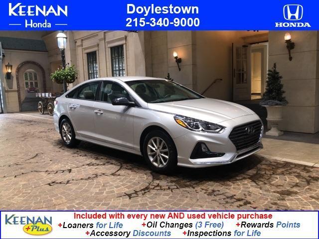 used 2018 Hyundai Sonata car, priced at $18,492