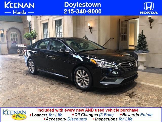 used 2017 Hyundai Sonata car, priced at $15,994
