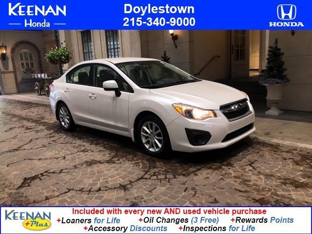 used 2012 Subaru Impreza car, priced at $11,992