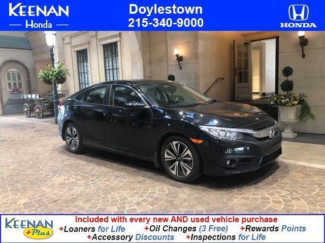used 2018 Honda Civic car, priced at $21,491