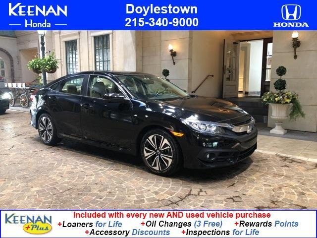 used 2018 Honda Civic car, priced at $22,491