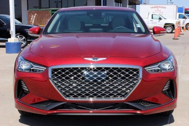 new 2021 Genesis G70 car, priced at $37,425