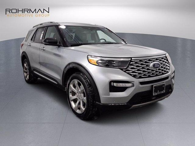 new 2020 Ford Explorer car, priced at $49,991