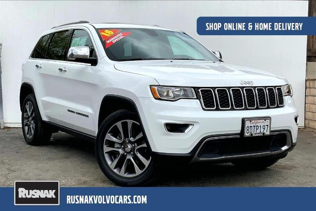 used 2018 Jeep Grand Cherokee car, priced at $29,995