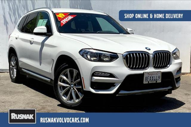 used 2019 BMW X3 car, priced at $33,795