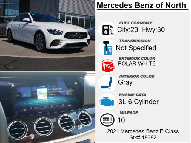 new 2021 Mercedes-Benz E-Class car, priced at $70,325