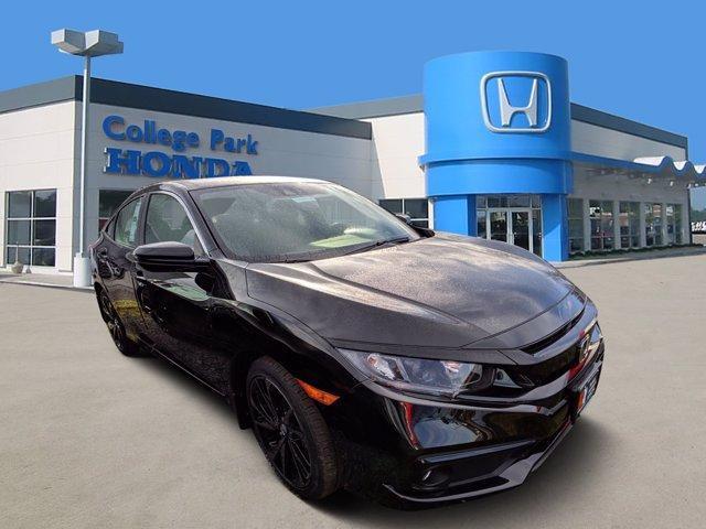 new 2021 Honda Civic car, priced at $24,044