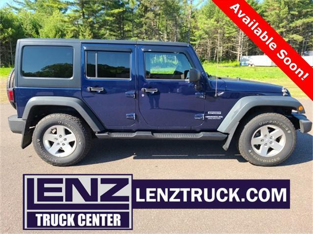 used 2013 Jeep Wrangler Unlimited car, priced at $21,950