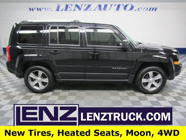 used 2017 Jeep Patriot car, priced at $16,497