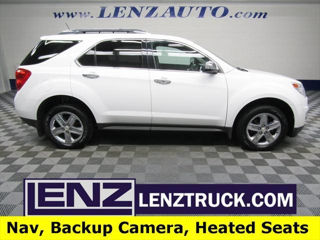 used 2015 Chevrolet Equinox car, priced at $14,497