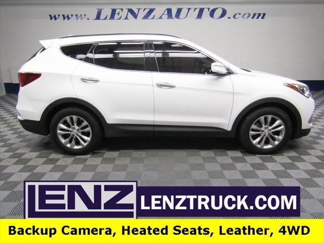 used 2017 Hyundai Santa Fe Sport car, priced at $18,497
