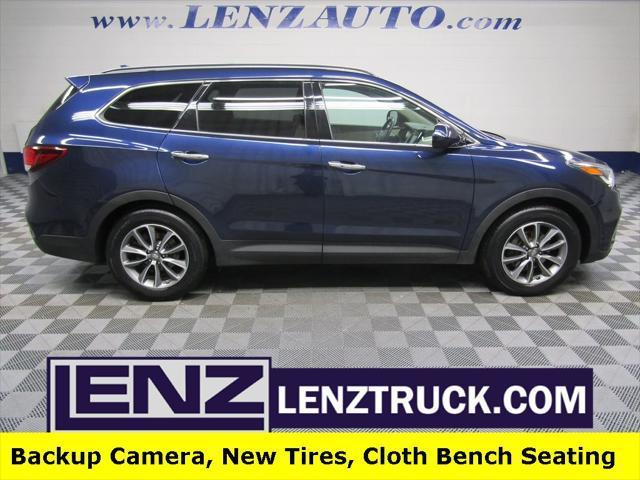 used 2017 Hyundai Santa Fe car, priced at $15,491