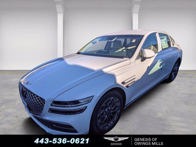 new 2021 Genesis G80 car