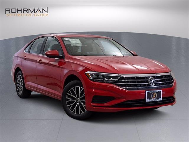new 2021 Volkswagen Jetta car, priced at $17,265