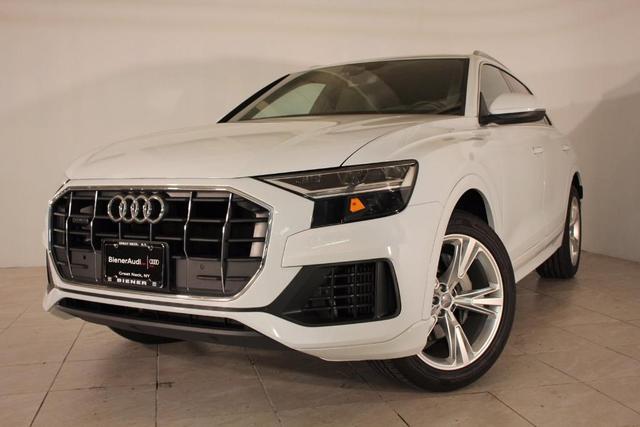 used 2019 Audi Q8 car, priced at $60,990