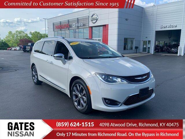 used 2017 Chrysler Pacifica car, priced at $34,990