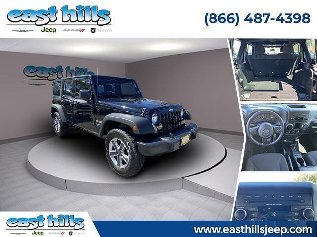 used 2018 Jeep Wrangler JK Unlimited car, priced at $34,818