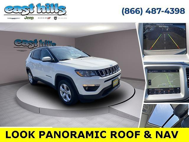 used 2018 Jeep Compass car, priced at $21,231