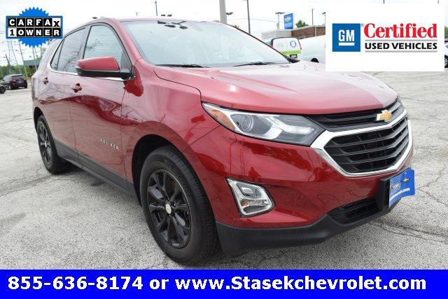 used 2018 Chevrolet Equinox car, priced at $22,794