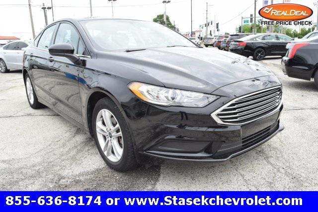 used 2018 Ford Fusion car, priced at $18,894