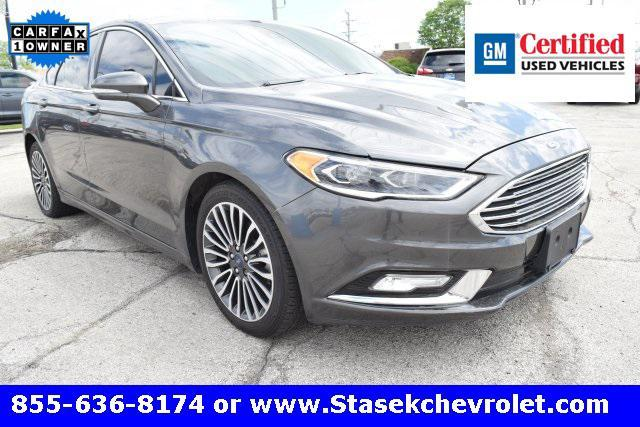 used 2017 Ford Fusion car, priced at $16,694