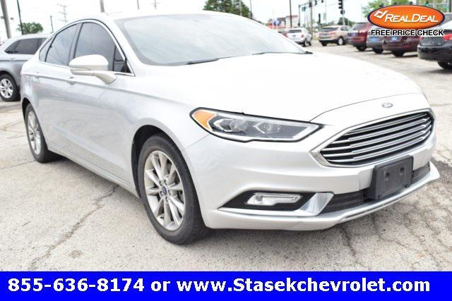 used 2017 Ford Fusion car, priced at $15,994