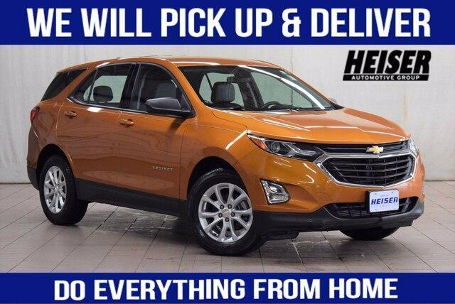 used 2018 Chevrolet Equinox car, priced at $19,923