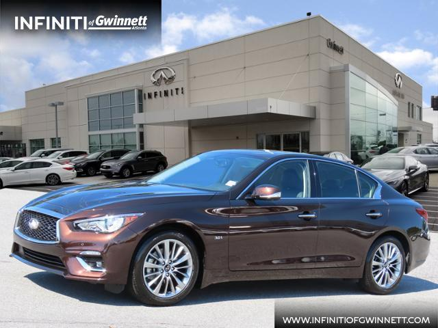 used 2020 INFINITI Q50 car, priced at $34,988