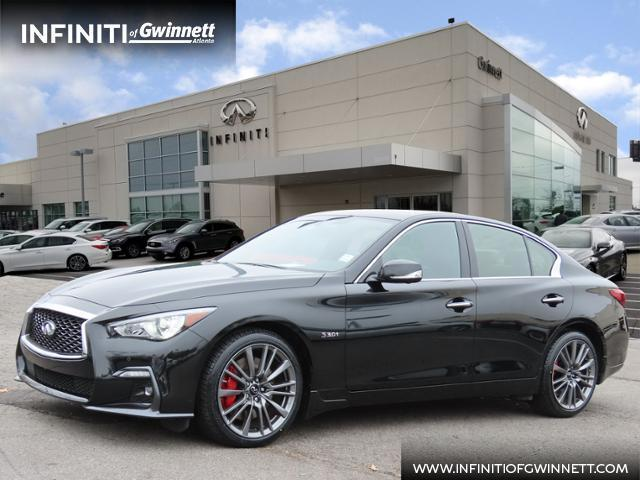 used 2020 INFINITI Q50 car, priced at $43,500
