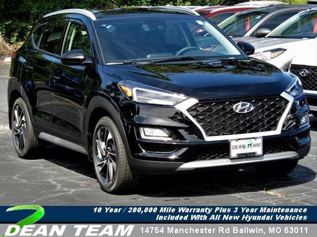 new 2021 Hyundai Tucson car, priced at $31,435
