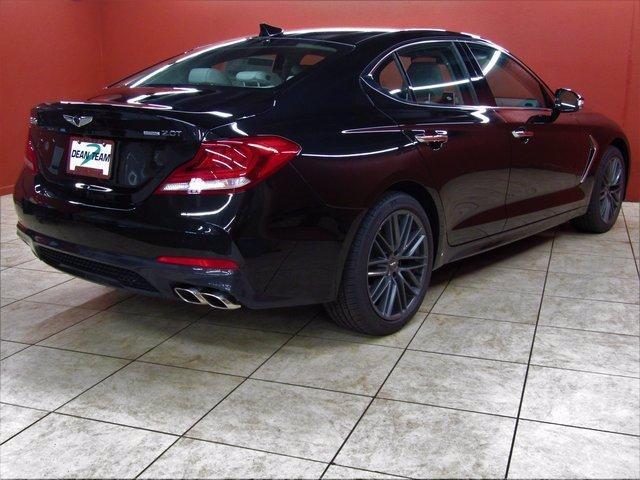 used 2019 Genesis G70 car, priced at $36,950