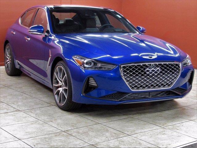 new 2021 Genesis G70 car, priced at $52,870