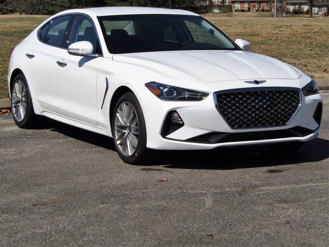 new 2021 Genesis G70 car, priced at $39,700